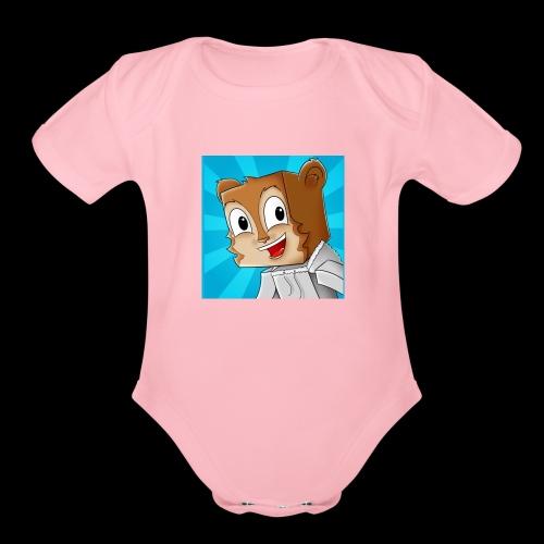 ChipmunkGaminz - Organic Short Sleeve Baby Bodysuit