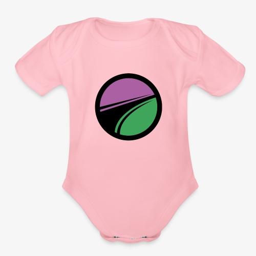 Team Pauper Logo - Organic Short Sleeve Baby Bodysuit