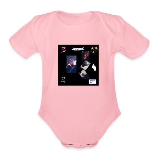InShot 20180412 233220488 - Organic Short Sleeve Baby Bodysuit
