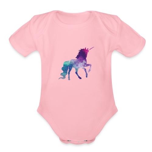 Unicorn for Days - Organic Short Sleeve Baby Bodysuit