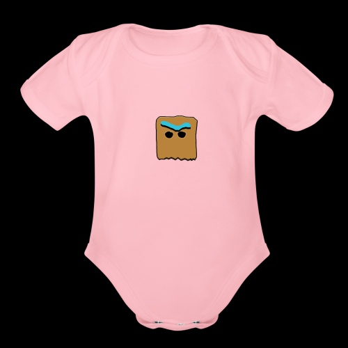 PLAYED - Organic Short Sleeve Baby Bodysuit