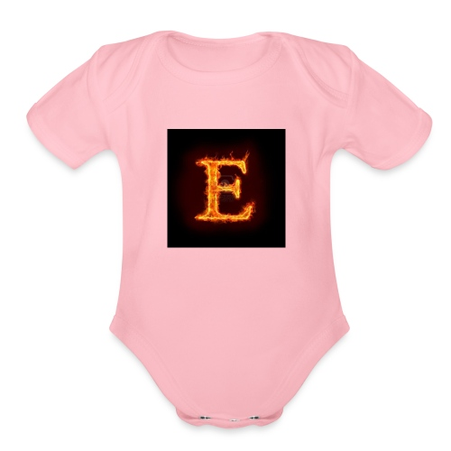 E shirt - Organic Short Sleeve Baby Bodysuit