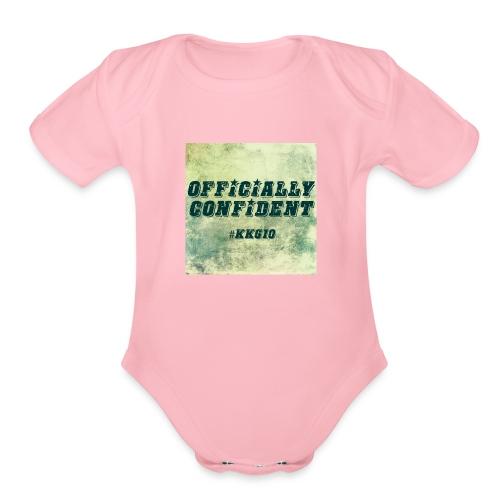 #KKG10 - Organic Short Sleeve Baby Bodysuit