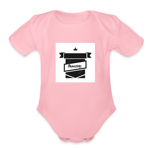 Christina Chad new and improved beansters merch - Organic Short Sleeve Baby Bodysuit