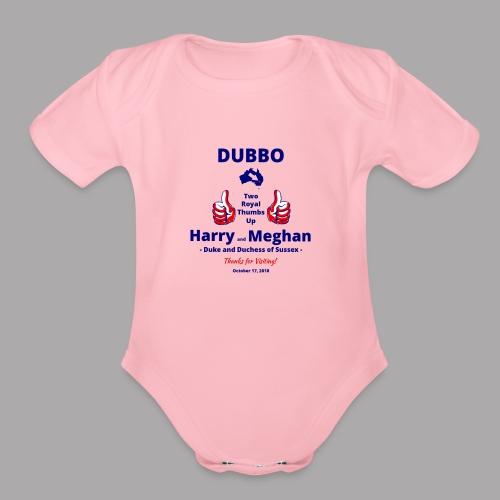 Prince Harry and Meghan Visit Dubbo - 17/10/2018 - Organic Short Sleeve Baby Bodysuit