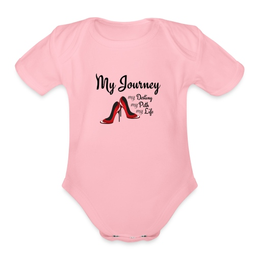 My Journey - Organic Short Sleeve Baby Bodysuit
