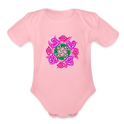 Theirhappy design - Organic Short Sleeve Baby Bodysuit