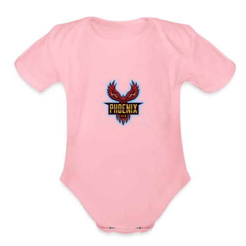 Team Phoenix Shop - Organic Short Sleeve Baby Bodysuit