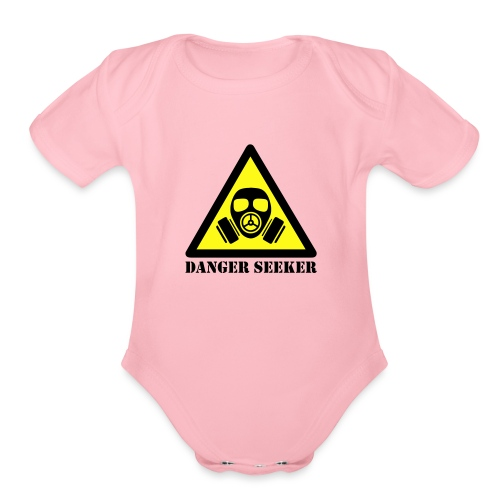 Danger Seeker - Organic Short Sleeve Baby Bodysuit