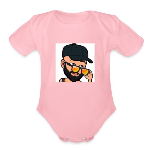 Eyooo😏 - Organic Short Sleeve Baby Bodysuit