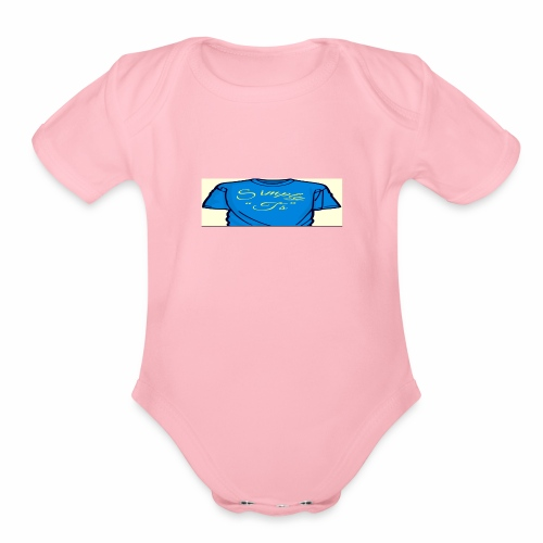 Q's Simply T's - Organic Short Sleeve Baby Bodysuit
