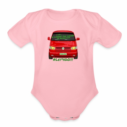 15081973331757 - Organic Short Sleeve Baby Bodysuit