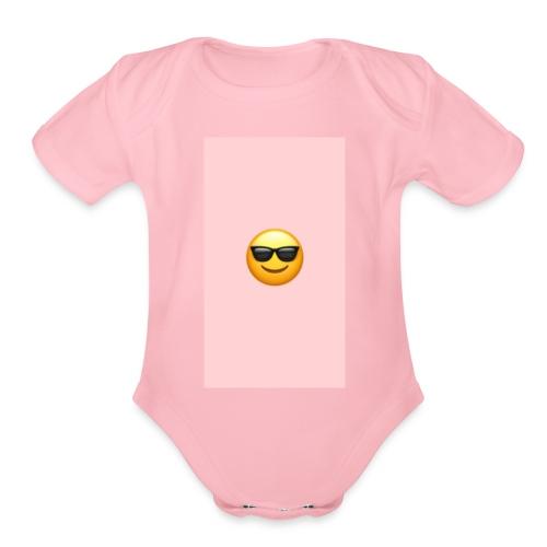 6BE343A2 E4BB 4AF2 B71F 47FE41F9C5B5 - Organic Short Sleeve Baby Bodysuit