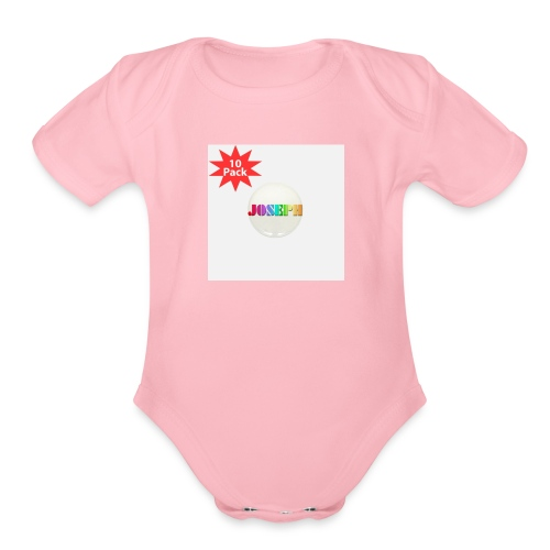 merch is the best - Organic Short Sleeve Baby Bodysuit