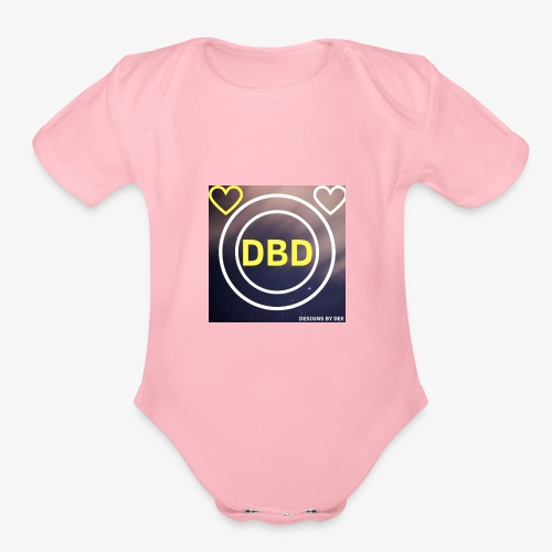 DBD - Organic Short Sleeve Baby Bodysuit