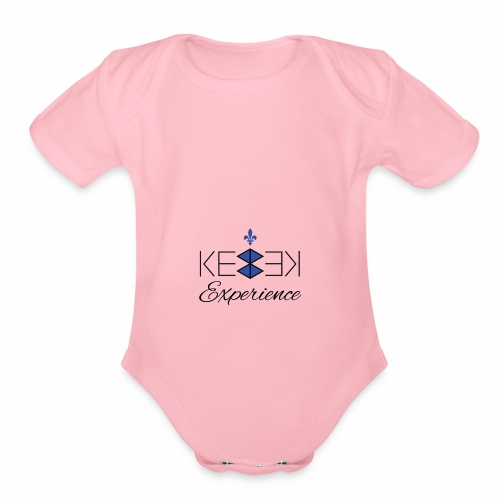 Kebek Experience - Organic Short Sleeve Baby Bodysuit