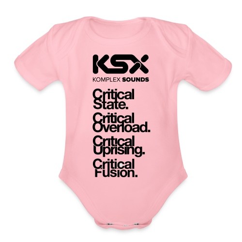 Komplex Labels - Organic Short Sleeve Baby Bodysuit
