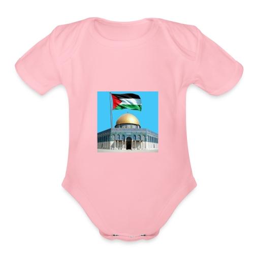 received 41150474595513 - Organic Short Sleeve Baby Bodysuit