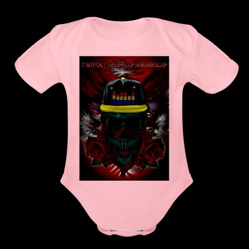 FlipFlap Nation - Organic Short Sleeve Baby Bodysuit