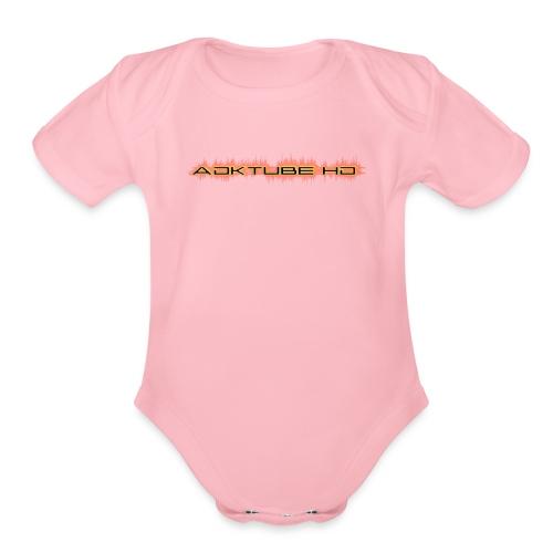 IMG 1234 - Organic Short Sleeve Baby Bodysuit