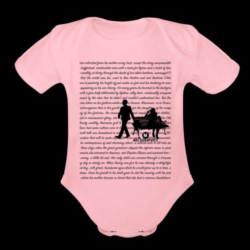 That Side of Paradise - Organic Short Sleeve Baby Bodysuit
