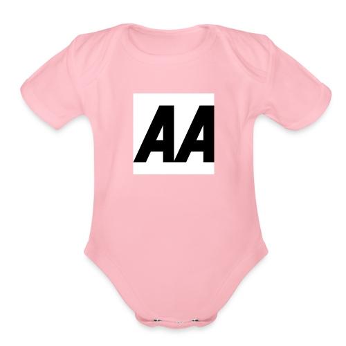 A.A - Organic Short Sleeve Baby Bodysuit