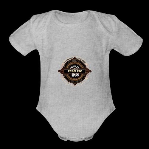 Design 9 - Organic Short Sleeve Baby Bodysuit