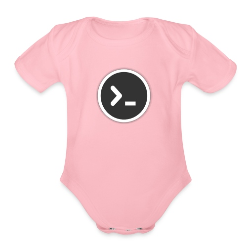 utilities-terminal-icon - Organic Short Sleeve Baby Bodysuit