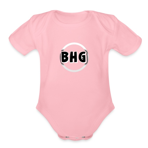BlackHatGaming - Organic Short Sleeve Baby Bodysuit