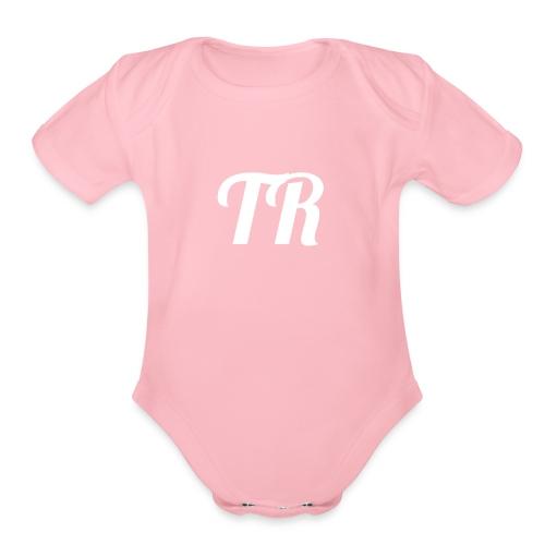 TempRex Logo - Organic Short Sleeve Baby Bodysuit