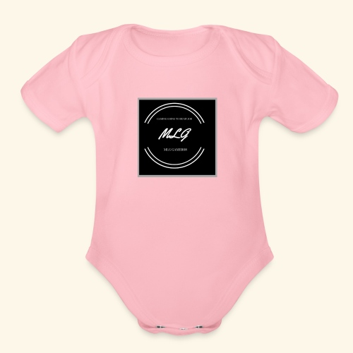 Circle - Organic Short Sleeve Baby Bodysuit