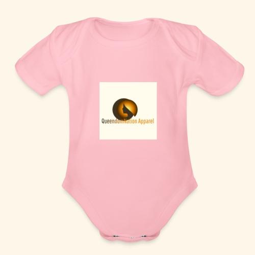 QueendomNation Apparel - Organic Short Sleeve Baby Bodysuit