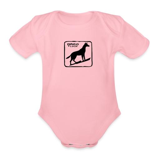 Dingo Flour - Organic Short Sleeve Baby Bodysuit