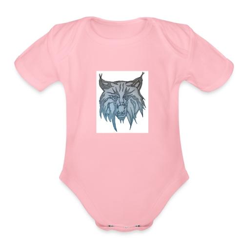 Bobcats - Organic Short Sleeve Baby Bodysuit