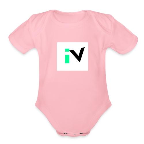 Isaac Velarde merch - Organic Short Sleeve Baby Bodysuit
