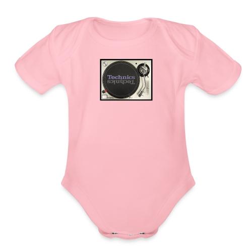 technics 1 - Organic Short Sleeve Baby Bodysuit