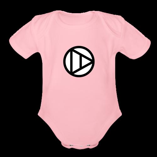 Katazui Logo - Organic Short Sleeve Baby Bodysuit