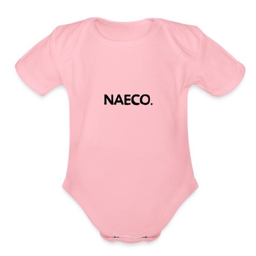 Naeco_Logo - Organic Short Sleeve Baby Bodysuit