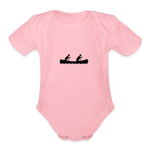Canoe 1 - Organic Short Sleeve Baby Bodysuit
