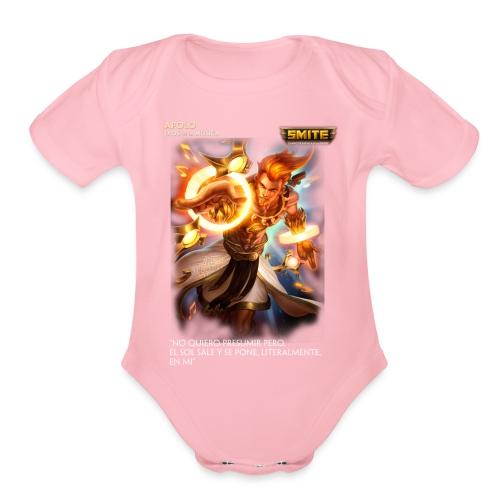 Smite Cloth - Apolo - Organic Short Sleeve Baby Bodysuit
