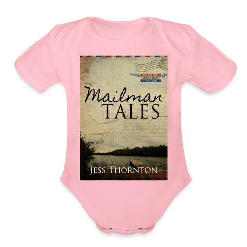 Mailman Tales cover - Organic Short Sleeve Baby Bodysuit
