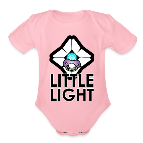 Little Light Ghost - Organic Short Sleeve Baby Bodysuit