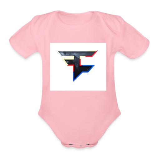 Faze T-shirt - Organic Short Sleeve Baby Bodysuit