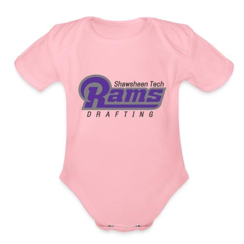Drafting 2016 - Organic Short Sleeve Baby Bodysuit