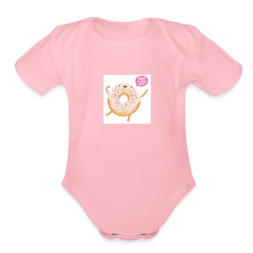 TUMZAZA - Organic Short Sleeve Baby Bodysuit