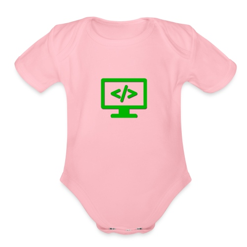 Coding Codex - Organic Short Sleeve Baby Bodysuit