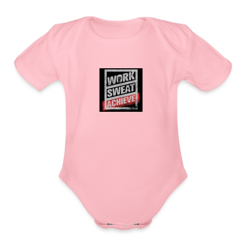 sweat shirt to achieve - Organic Short Sleeve Baby Bodysuit