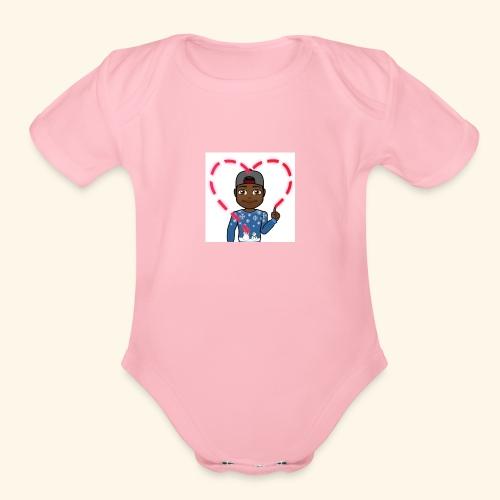 BitLove - Organic Short Sleeve Baby Bodysuit