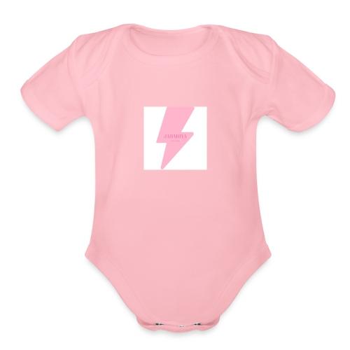 JAHMOYABROOKS - Organic Short Sleeve Baby Bodysuit