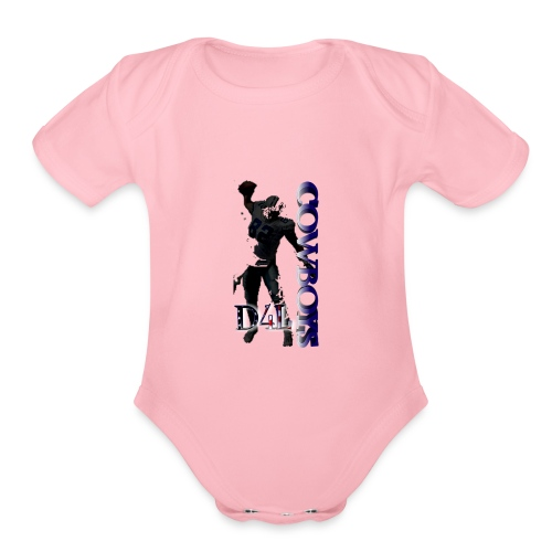 Cowboys - Organic Short Sleeve Baby Bodysuit